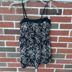 Charlotte Russe babydoll tank top medium